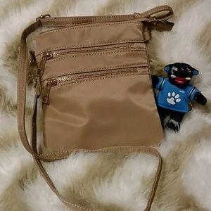 💙🖤 Tan Crossbody Bag 🖤💙🐾